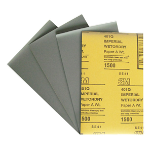 Изображение товара Водостойкая наждачная бумага 3М Р2500 138мм*230мм