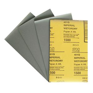 Изображение товара Водостойкая наждачная бумага 3М Р1500 138мм*230мм