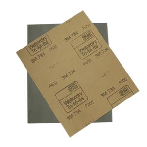 Изображение товара Водостойкая наждачная бумага 3М Р180 230мм*280мм