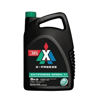 Изображение товара antifriz-x-freeze-green--40-g-11-5kg-zelyoniy