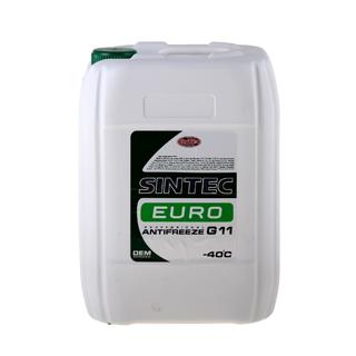 Изображение товара Sintec Антифриз Euro G-11 10кг зелёный