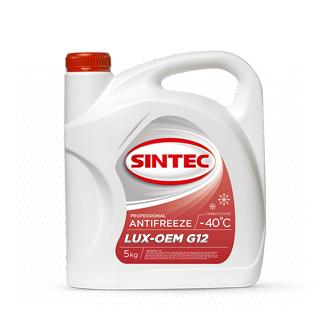 Изображение товара Sintec Антифриз Lux G-12 5кг красный