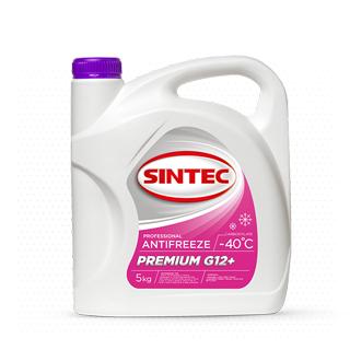 Изображение товара Sintec Антифриз Premium G-12+ 5кг красный готовый