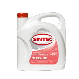 Изображение товара Sintec Антифриз Ultra G-11 5кг красный