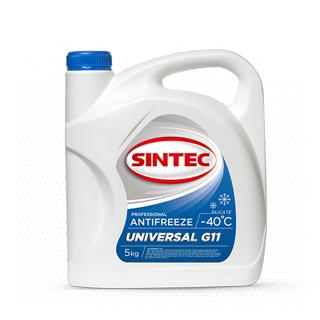 Изображение товара Sintec Антифриз Universal G-11 5кг синий