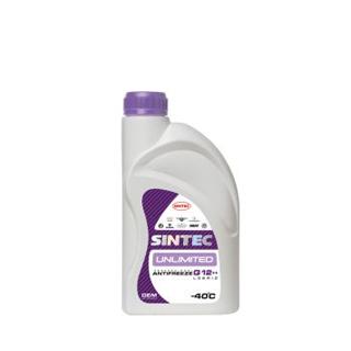 Изображение товара Sintec Антифриз Unlimited G-12++ 1кг фиолетовый
