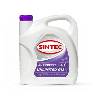 Изображение товара Sintec Антифриз Unlimited G-12++ 5кг фиолетовый