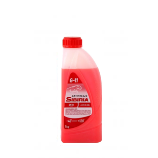 Изображение товара Антифриз SIBIRIA G-11 1кг красный