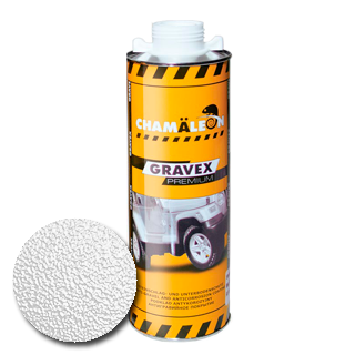 Изображение товара Антигравийное покрытие GRAVEX белый (1л)