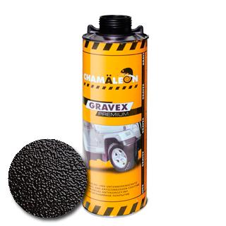 Изображение товара Антигравийное покрытие GRAVEX черный (1л)