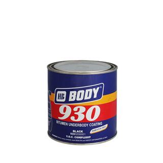 Изображение товара Мастика для днища BODY 930 (1кг) полимерно-битумная