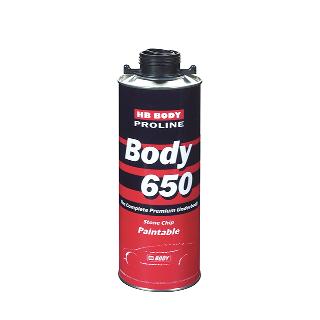 Изображение товара Антигравий BODY PROLINE 650 (1кг) черный (антикор HB)