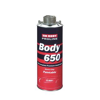Изображение товара Антигравий BODY PROLINE 650 (1кг) серый (антикор HB)