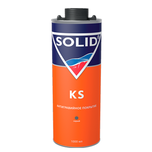 Изображение товара Антигравий SOLID KS серый под пистолет 1л