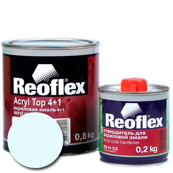 Изображение товара Автоэмаль акриловая Reoflex Белая 202 и Отвердитель RX H-53