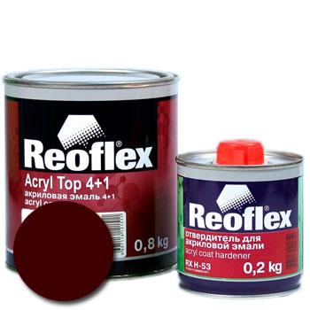 Изображение товара Автоэмаль акриловая Reoflex Гранат 180 и Отвердитель RX H-53