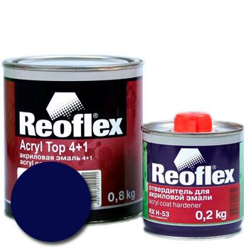 Изображение товара Автоэмаль акриловая Reoflex Океан 449 и Отвердитель RX H-53