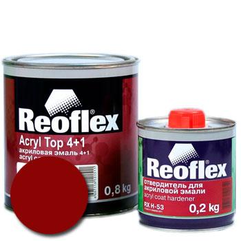 Изображение товара Автоэмаль акриловая Reoflex Вишня 127 и Отвердитель RX H-53
