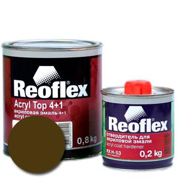 Изображение товара Автоэмаль акриловая Reoflex Защитная глянцевая 303 (Хаки) и Отвердитель RX H-53