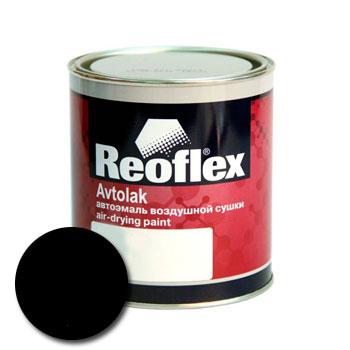 Изображение товара Автоэмаль алкидная Reoflex Черная матовая (0,75л)
