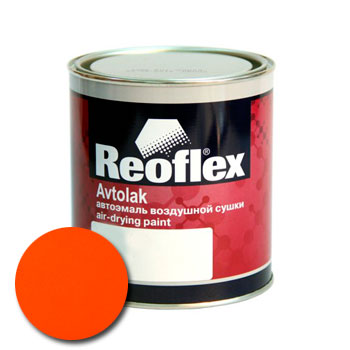 Изображение товара Автоэмаль алкидная Reoflex Оранжевая (0,75л)