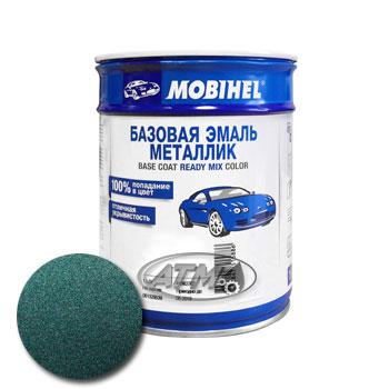 Изображение товара Автоэмаль MOBIHEL 03049 Зеленая 1л (металлик)