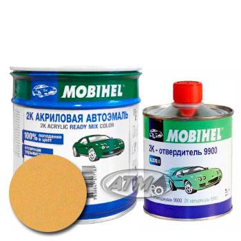 Изображение товара Автоэмаль MOBIHEL 2К 210 Примула и Отвердитель MOBIHEL 2К 9900 (Снят)