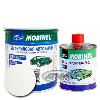 Изображение товара Автоэмаль MOBIHEL 2К Ford B3 Diamond White и Отвердитель MOBIHEL 2К 9900