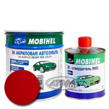 Изображение товара Автоэмаль MOBIHEL 2К Ford ED Aporto Red и Отвердитель MOBIHEL 2К 9900 (Снят)