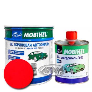 Изображение товара Автоэмаль MOBIHEL 2К Ford P9 Spanish Rot и Отвердитель MOBIHEL 2К 9900 (Снят)