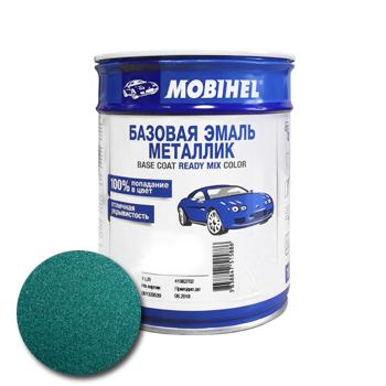 Изображение товара Автоэмаль MOBIHEL 385 изумруд 1л (металлик)