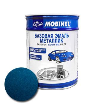 Изображение товара Автоэмаль MOBIHEL 50343 Синяя 1л (металлик)