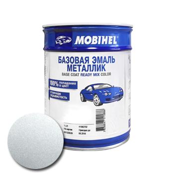 Изображение товара Автоэмаль MOBIHEL 640 серебристый 1л (металлик)