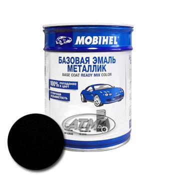 Изображение товара Автоэмаль MOBIHEL BMW 303 Cosmosschwarz 1л (металлик)