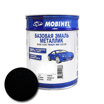 Изображение товара Автоэмаль MOBIHEL чёрная ТагАЗ D01 1л (металлик)