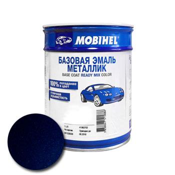 Изображение товара Автоэмаль MOBIHEL Daewoo 20U Pacific blue 1л (металлик)
