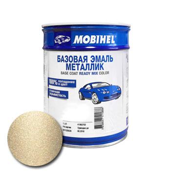 Изображение товара Автоэмаль MOBIHEL Daewoo 62U Khaki Beige 1л (металлик)