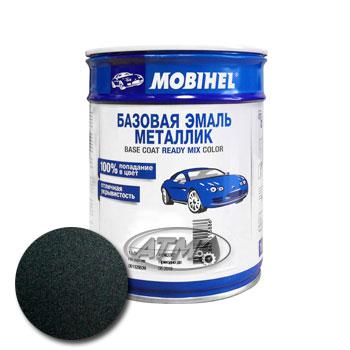 Изображение товара Автоэмаль MOBIHEL Mercedes 199 Blauschwarz 1л (металлик)