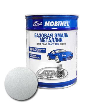 Изображение товара Автоэмаль MOBIHEL Mercedes 744 Brillant Silber 1л (металлик)