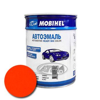 Изображение товара Автоэмаль MOBIHEL Оранжевая КАМАЗ 1л