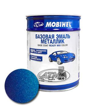 Изображение товара Автоэмаль MOBIHEL Renault 498 Bleu Dazurite 1л (металлик)