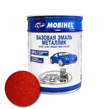 Изображение товара Автоэмаль MOBIHEL Renault B76 Rouge de Feu 1л (металлик)