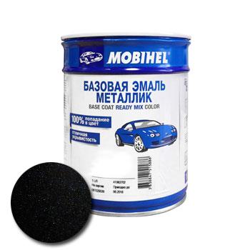 Изображение товара Автоэмаль MOBIHEL VW Deep Black 1л (металлик)