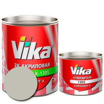 Изображение товара Автоэмаль Vika АК-1305 Белое облако 240 и Отвердитель Vika 1305 (акриловый)