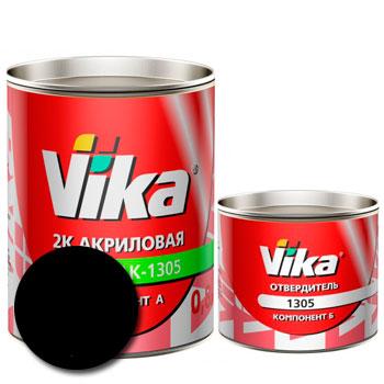 Изображение товара Автоэмаль Vika АК-1305 Черная 601 и Отвердитель Vika 1305 (Снят с производства)
