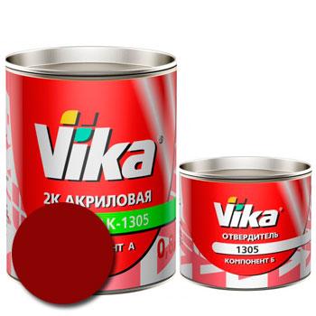 Изображение товара Автоэмаль Vika АК-1305 Вишневая 02 и Отвердитель Vika 1305 (Снят с производства)