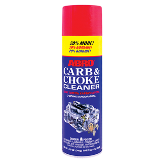 Изображение товара Очиститель карбюратора ABRO +20% спрей 340гр