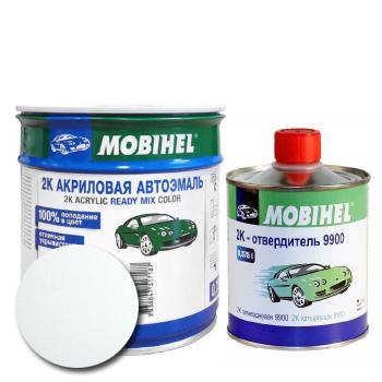 Изображение товара Автоэмаль MOBIHEL 2К 040 белая тойота и Отвердитель MOBIHEL 2К 9900