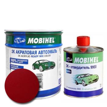 Изображение товара Автоэмаль MOBIHEL 2К 127 вишня и Отвердитель MOBIHEL 2К 9900