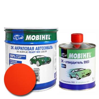 Изображение товара Автоэмаль MOBIHEL 2К 165 корида и Отвердитель MOBIHEL 2К 9900 (Снят)